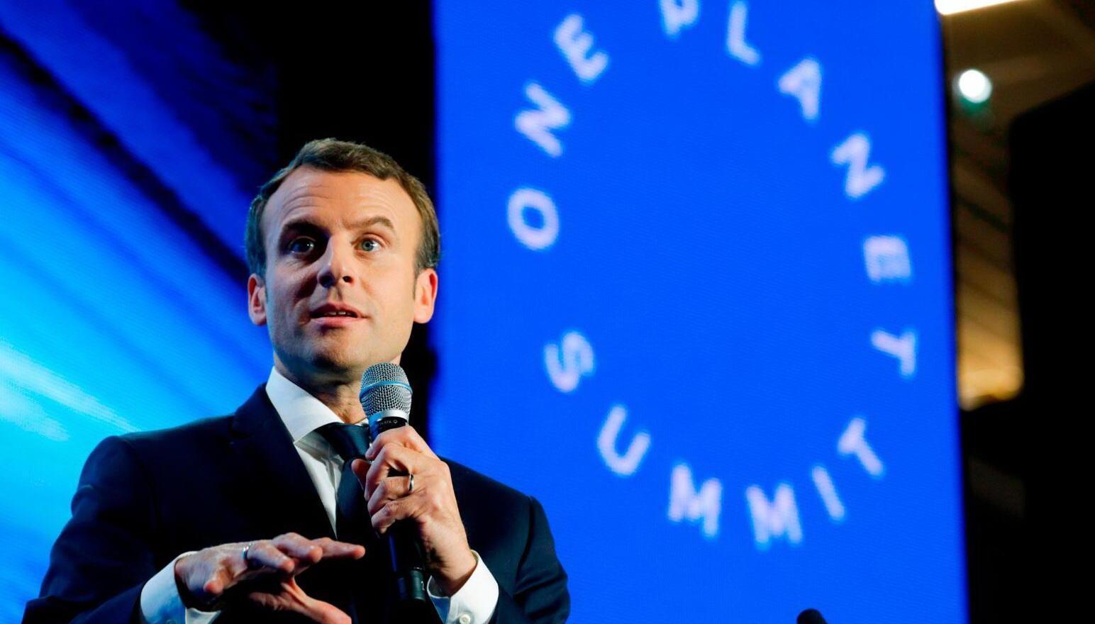 واقعية ماكرون في مؤتمر باريس… العالم على وشك أن يخسر معركة المناخ