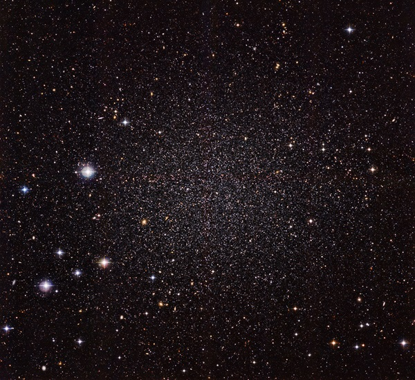 Astronomers measure the motions of stars in a nearby galaxy
