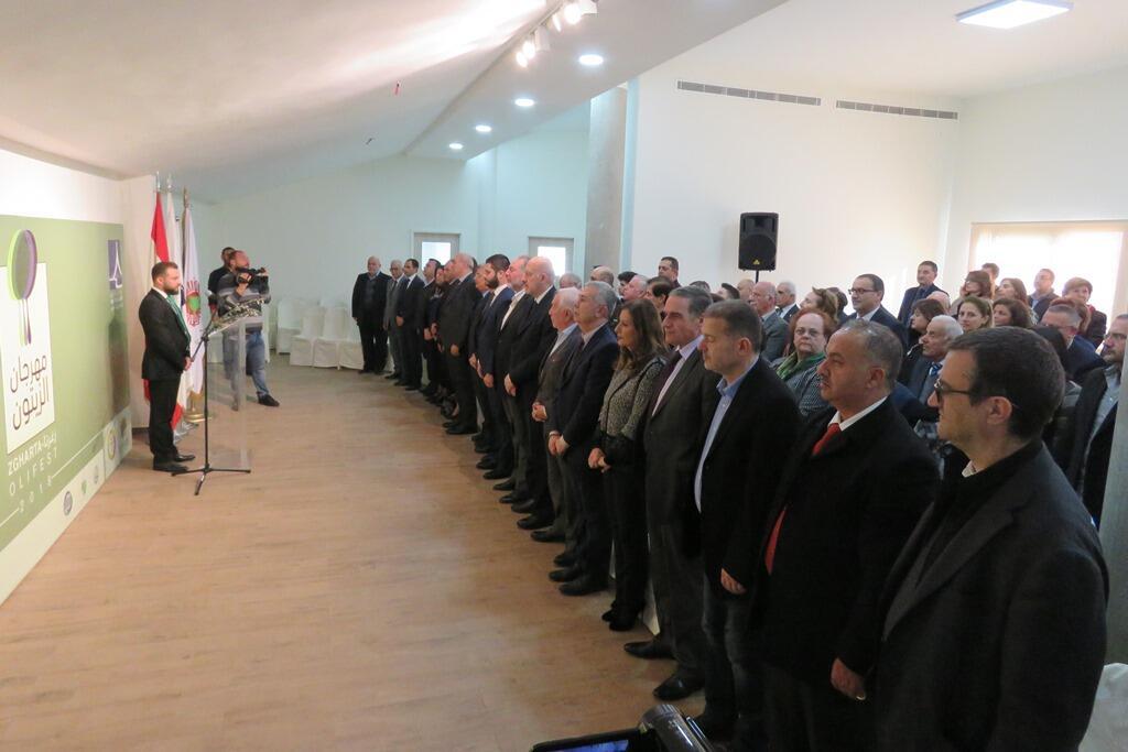 افتتاح مهرجان الزيتون الاول في زغرتا برعاية وزير السياحة