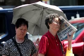 موجة حر تجتاح ولايات الغرب الأوسط وشمال شرق الولايات المتحدة