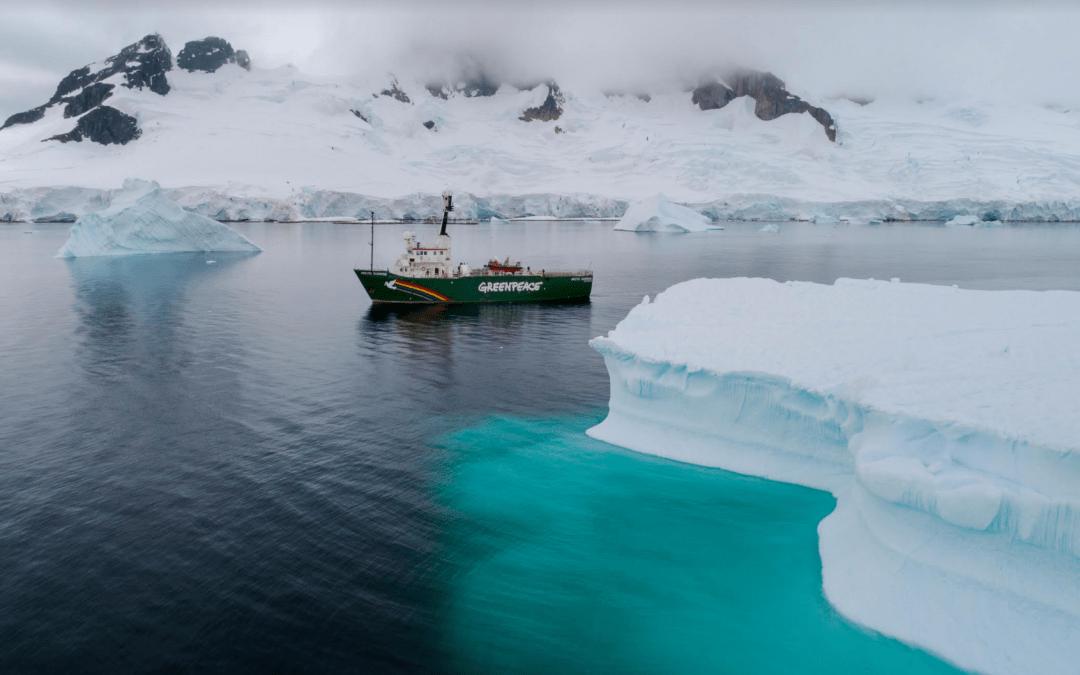 """""""غرينبيس"""" تطالب بمحمية في """"أنتاركتيكا"""""""
