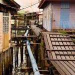 水上集落に宿泊カンポン・アイールへの行き方【アクセス】
