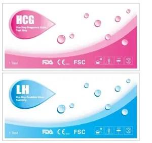 pregnancy ovulation test strips