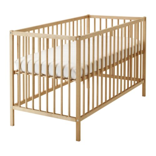 IKEA Sniglar solid wood crib