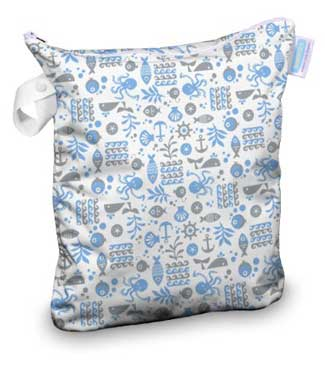 thirsties cloth diaper wet bag