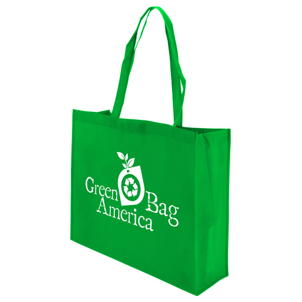 Green Bag America XL reusable promotional bag