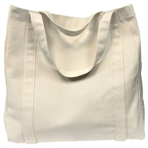 Eco-friendly jumbo canvas shopping bag