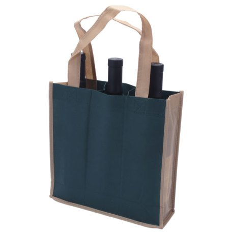 dark-green-3-bottle-wine-bag
