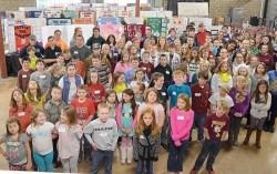 2016 Pocahontas County Science Fair participants