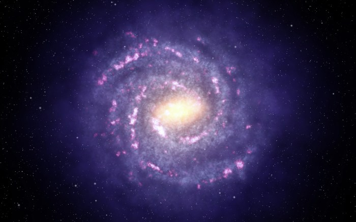 Milky Way (artists impression)