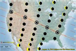 west to east swath of eclipse coverage