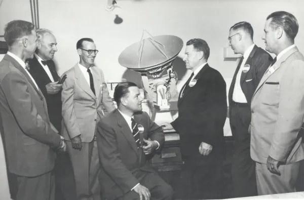 1957 Dedication photo