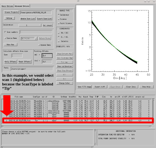 m2gui Tip scan 2