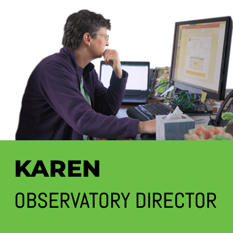 Karen Observatory director