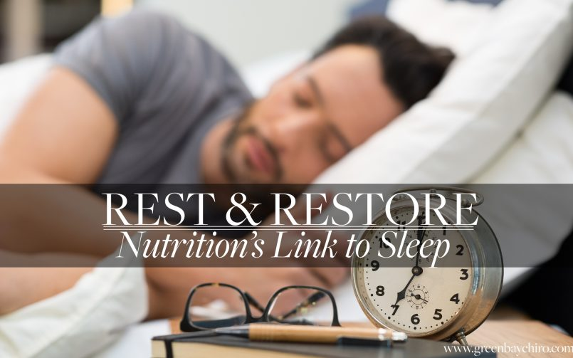Lifestyle Chiropractic Restore Rest Sleep Green Bay WI