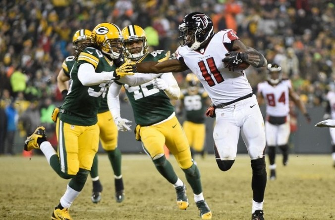 NFL: Atlanta Falcons at Green Bay Packers