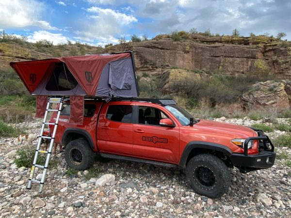 Desert Armor Warrior XL Roof Top Tent RTT