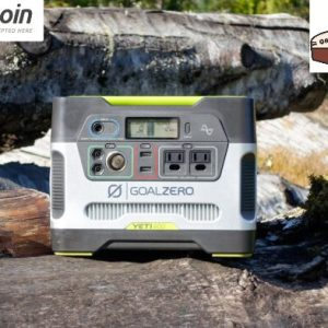 Goal Zero Yeti 400 Power Station Portable Solar Power