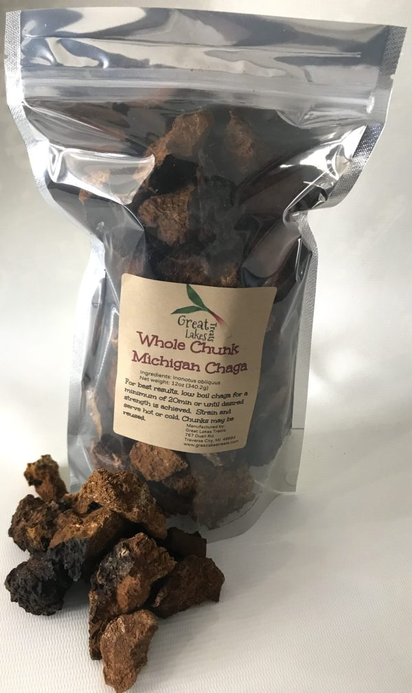Chaga Chunks Michigan Coronavirus Prevention Chaga Teatment