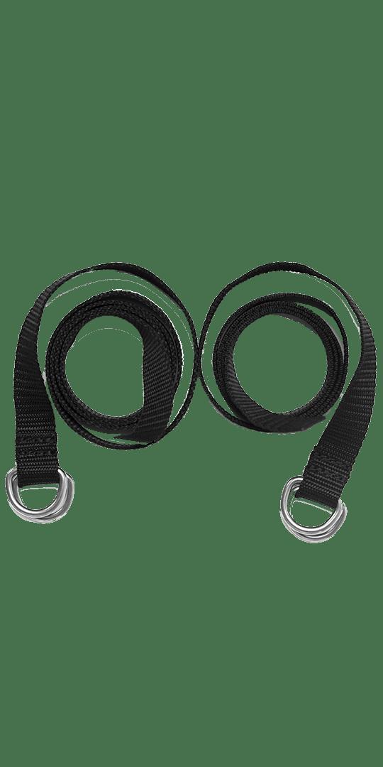 Compression straps d-ring straps