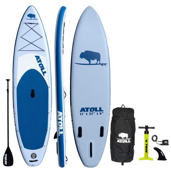 Atoll Blue Paddle Board