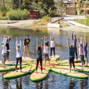 SOL Namastation SUP Yoga Dock