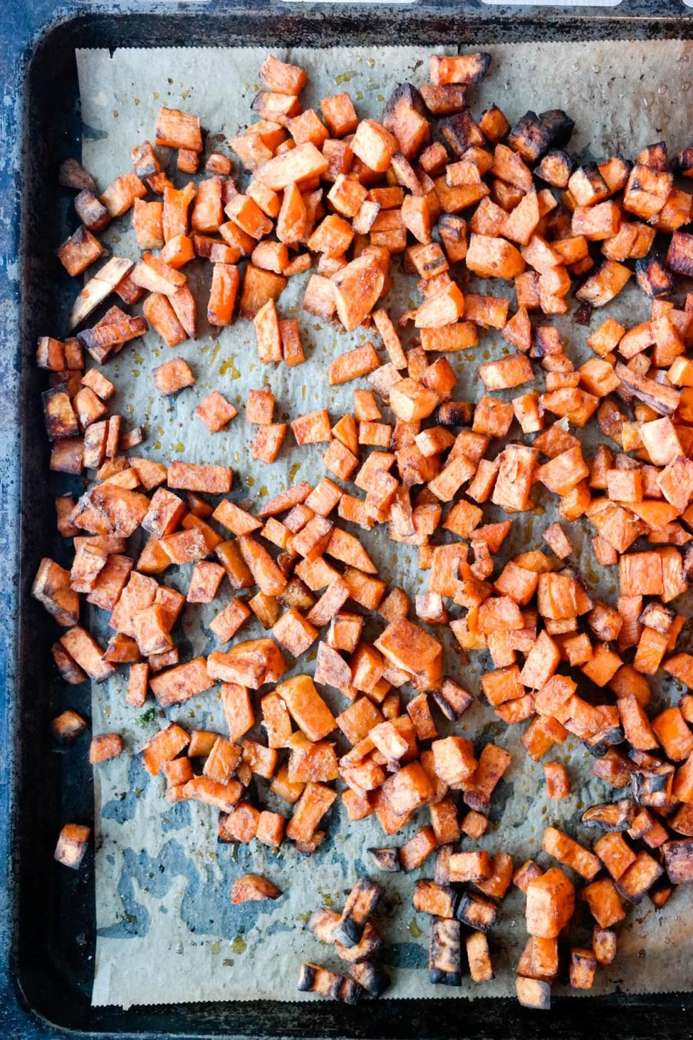 Den perfekte måten å bruke søtpotet på, er i ovnsbakt form med varme krydder.