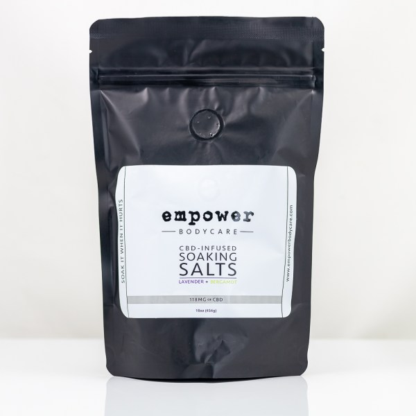 Empower CBD-Infused Soaking Salts | Green Box