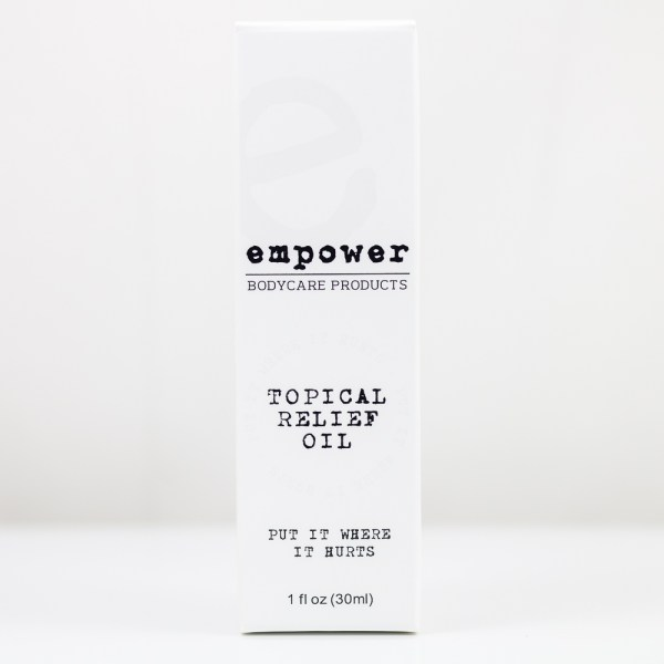 Topical Relief Oil 30 mL Empower Bodycare | Green Box