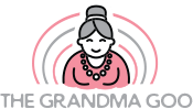 The Grandma Goo -Logo Full- Green Brain Design Factory - Pittsburgh Logo Design