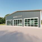 Auto Repair Shop Building Mechanic Garage Prices Plans