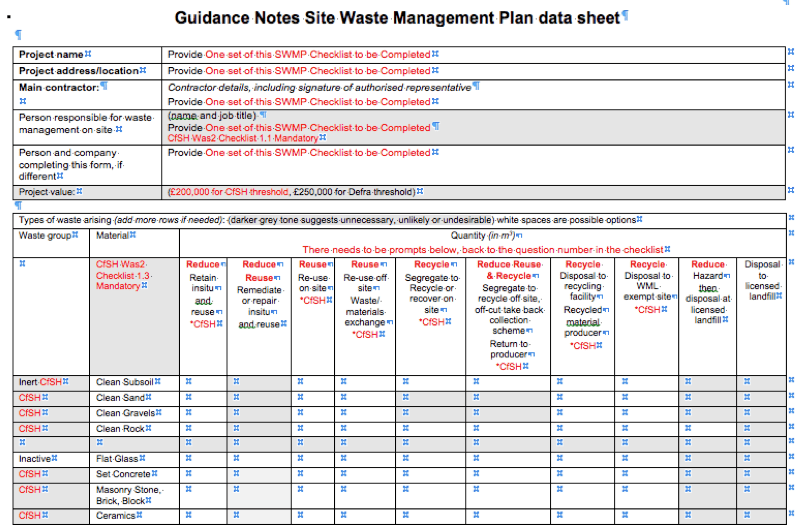 Data Management Plan Template Sample