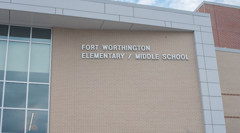 New Fort Worthington School Welcomes Students Back