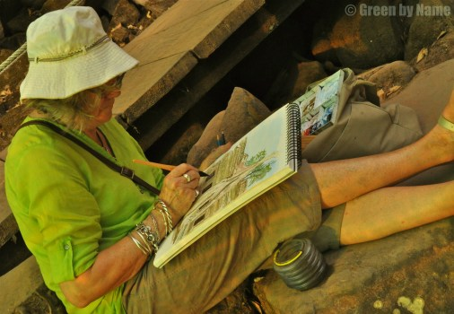 Paint ~ Join me on Discovery Tour of Cambodia