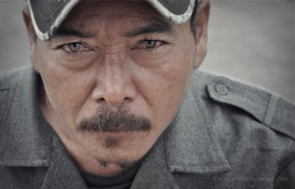 The Soldier. Phnom Penh.