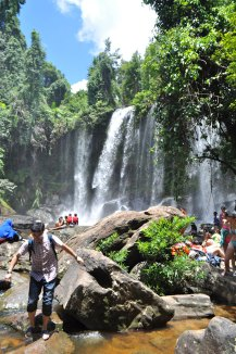 Sacred Waterfalls ~ Join me on Discovery Tour of Cambodia