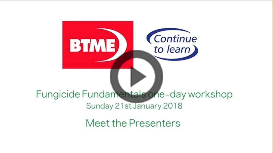1024 - Fungicide Fundamentals meet the presenters video screen