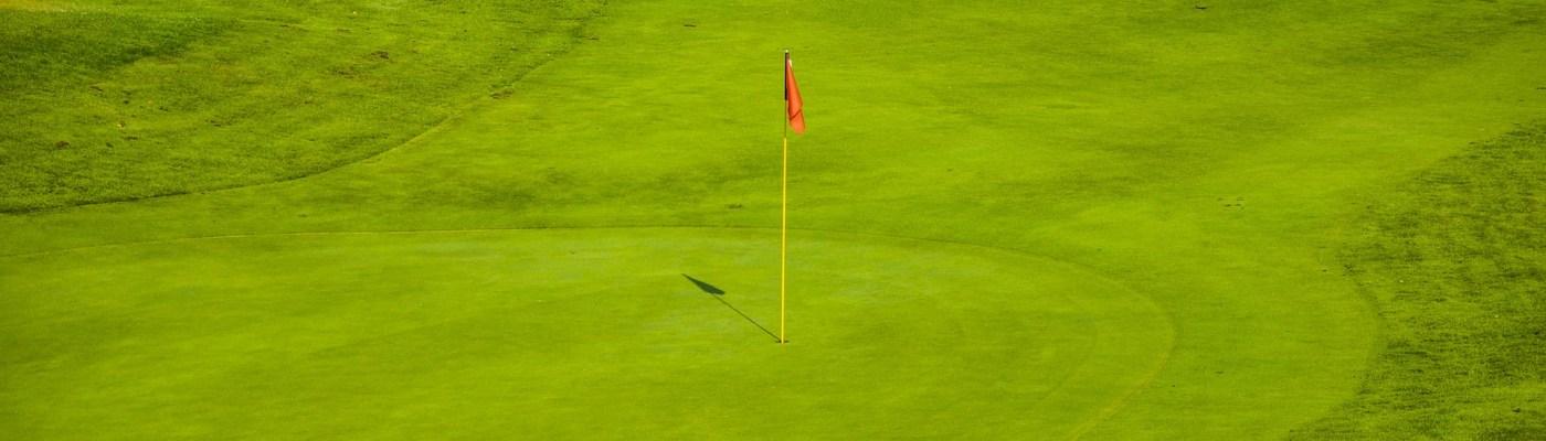 Spray Application Golf Greens