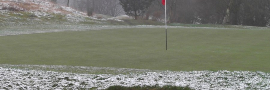 Turf care in snow winter conditions