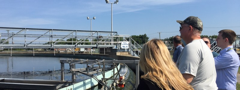 Green Check Business Tour: Wastewater Treatment Plant