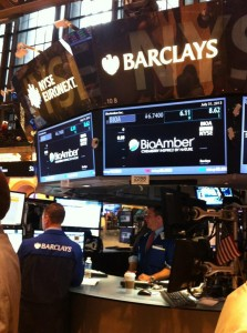 BioAmber at NYSE