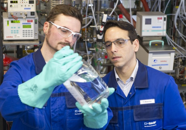 BASF Cargill Novozymes Acrylic R&D