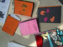 The kids finished books look great!