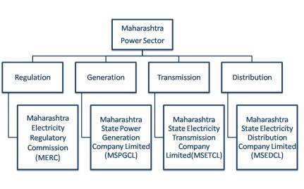 Institutional structure of Maharashtra State Electricity Board