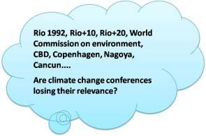 Climate change conferences