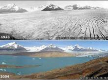 Glacier-Melting due to global warming
