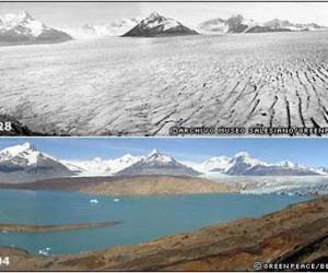 Glacier-Melting due to global warming