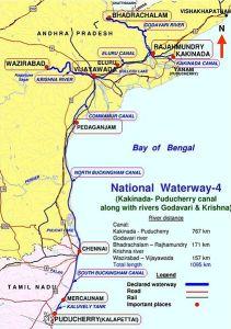 Indias National Waterways NW-4