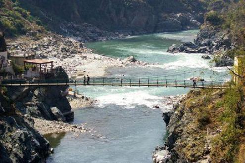 Mandakini river at Rudraprayag