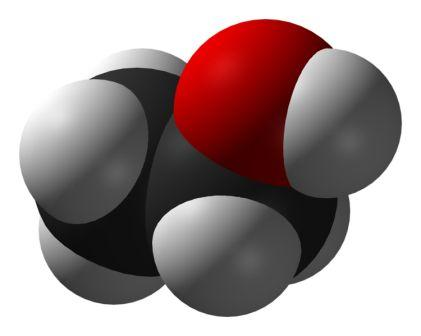 Ethanol Molecule- 3D View